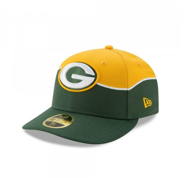 d224b3c9 New Era Green Bay Packers 2019 NFL Draft Low Profile 59FIFTY Fitted ...