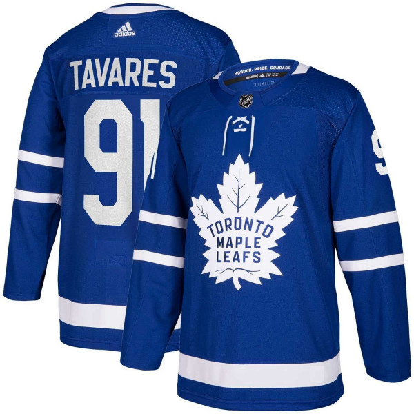 John Tavares #91 Toronto Maple Leafs adidas Authentic Pro NHL Trikot Home