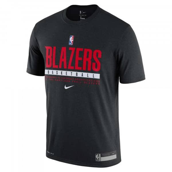 Portland Trail Blazers 2020/21 NBA Practice Nike Performance T-Shirt