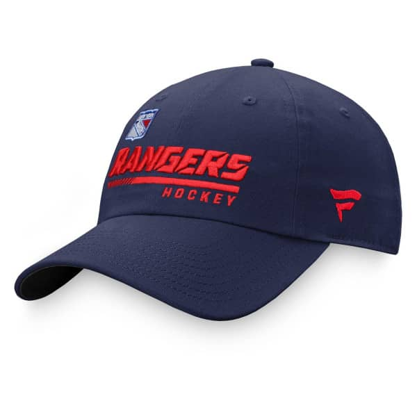 New York Rangers 2020/21 NHL Authentic Pro Locker Room Fanatics Adjustable Cap