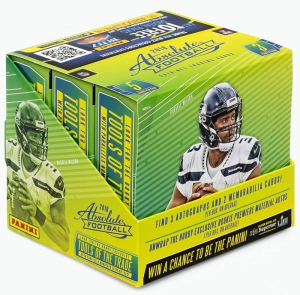 2018 Panini Absolute Football Hobby Box NFL