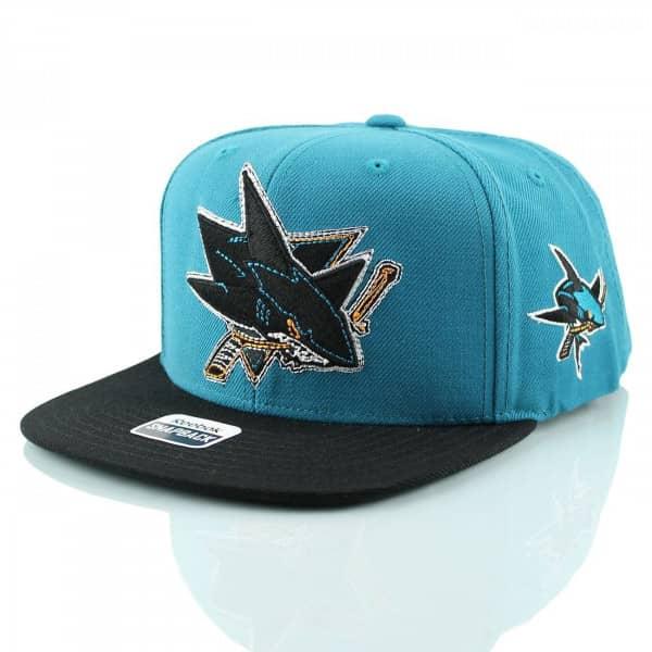 2435aff53eb Reebok San Jose Sharks Tonal Logo Snapback NHL Cap