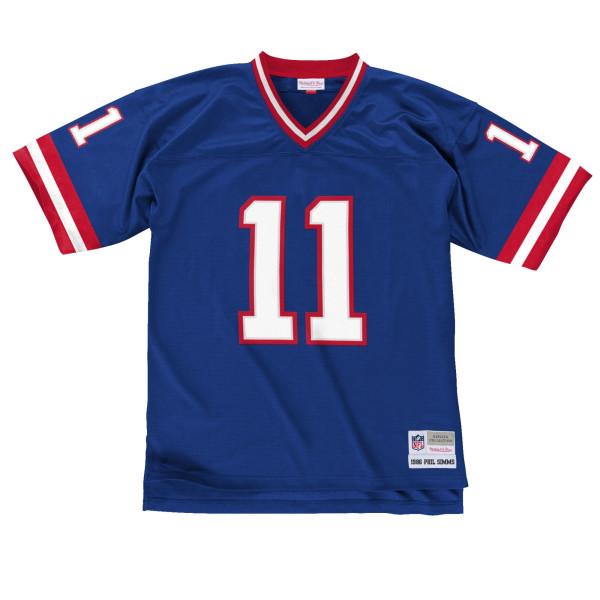 Phil Simms #11 New York Giants Legacy Throwback NFL Trikot Blau