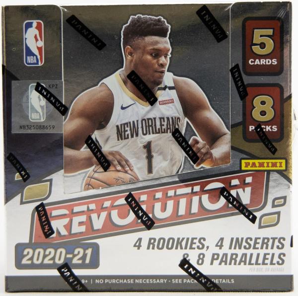 2020/21 Panini Revolution Basketball Hobby Box NBA