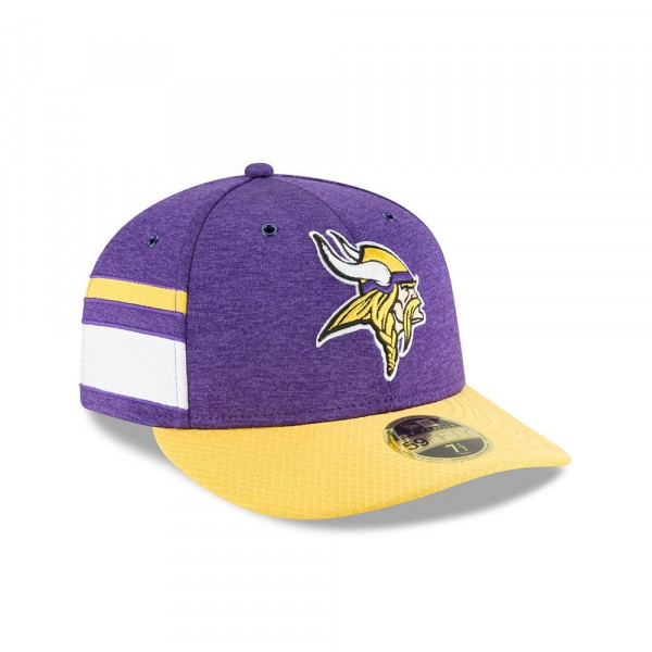 Minnesota Vikings 2018 NFL Sideline Low Profile 59FIFTY Cap Home