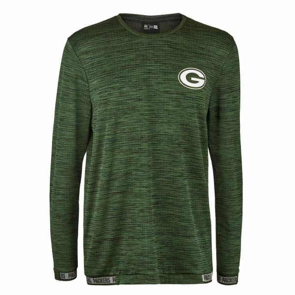 Green Bay Packers Engineered Performance NFL Long Sleeve Shirt