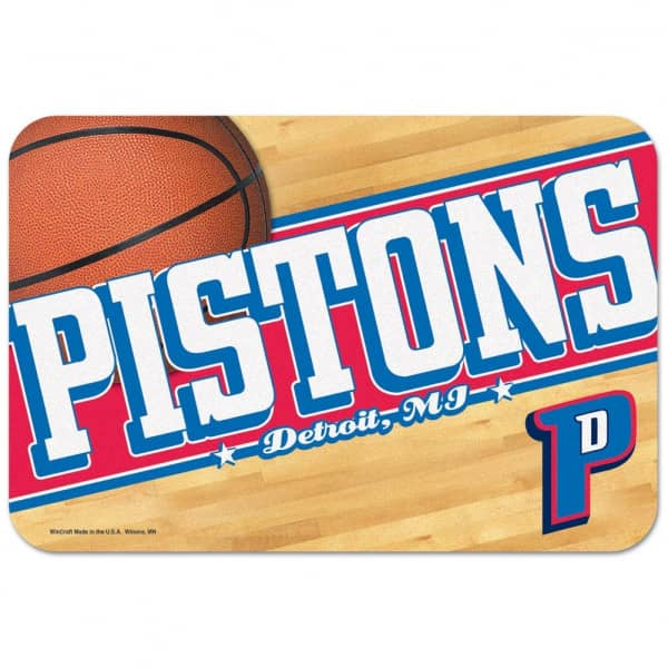 Detroit Pistons Basketball NBA Fußmatte