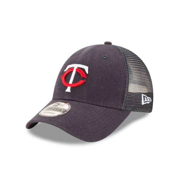 Minnesota Twins Basic New Era 9FORTY Trucker MLB Cap