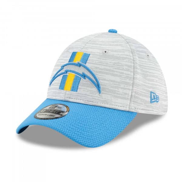 Los Angeles Chargers 2021 NFL Offical Training New Era 39THIRTY Flex Fit Cap