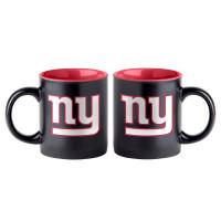 New York Giants Black Matte Jumbo NFL Becher (415 ml)