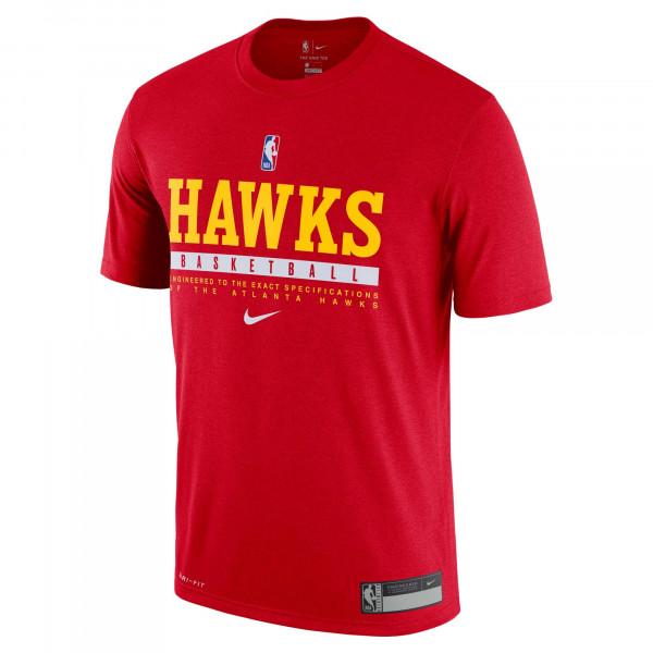 Atlanta Hawks 2020/21 NBA Practice Nike Performance T-Shirt