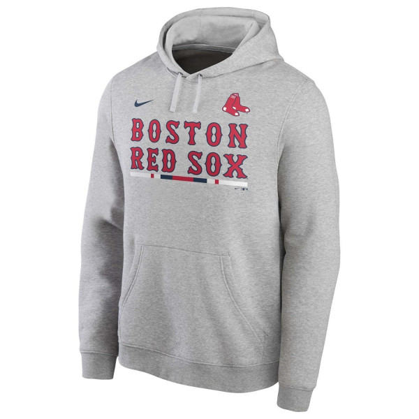 Boston Red Sox Color Bar Nike Club Fleece MLB Hoodie