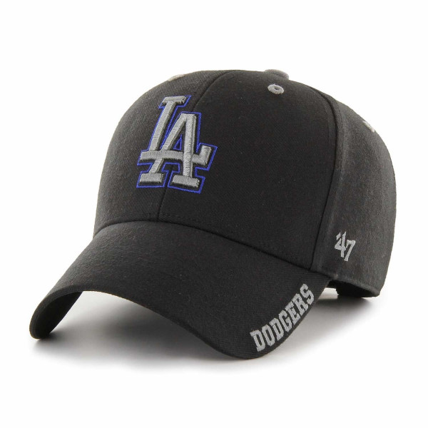 6857f020566 47 Brand Los Angeles Dodgers Defrost MVP Adjustable MLB Cap Black ...