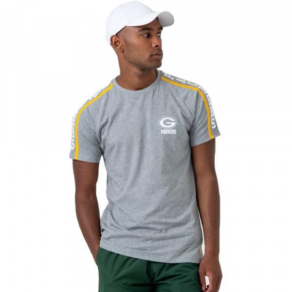 Green Bay Packers Shoulder Print NFL T-Shirt