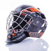 Philadelphia Flyers NHL Mini Goalie Mask