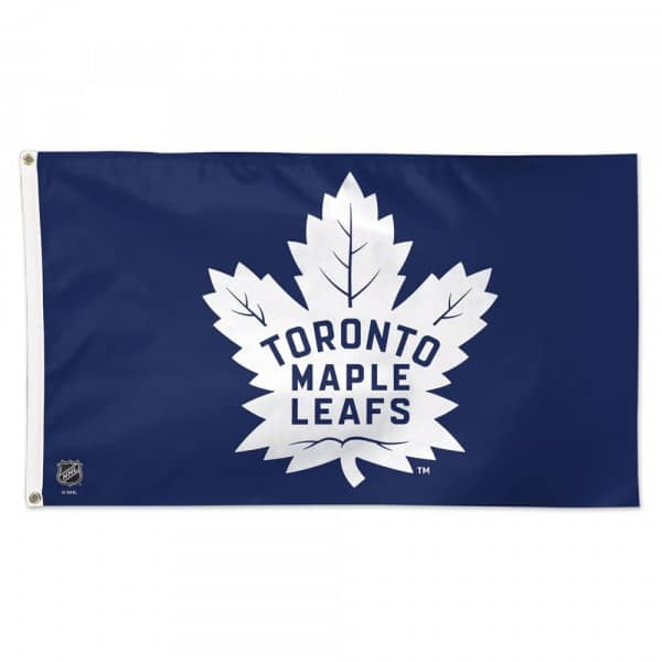 Toronto Maple Leafs Deluxe NHL Hissfahne (150 x 90)