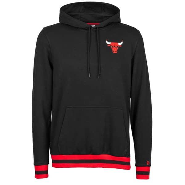 Chicago Bulls Stripe Rib NBA Hoodie