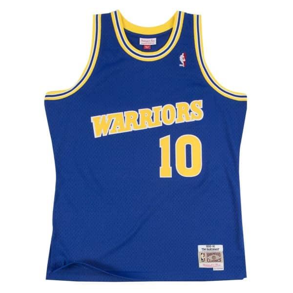 Tim Hardaway #10 Golden State Warriors 1990-91 Swingman NBA Trikot