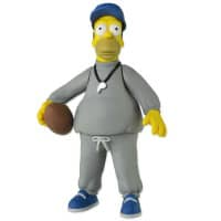 The Simpsons 25th Anniversary Action Figur – Homer Simpson (Coach)