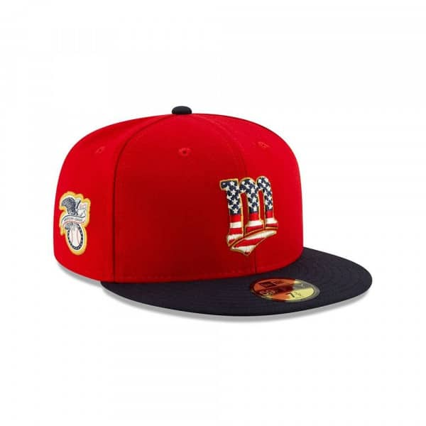 Minnesota Twins 4th of July 2019 59FIFTY Fitted MLB Cap