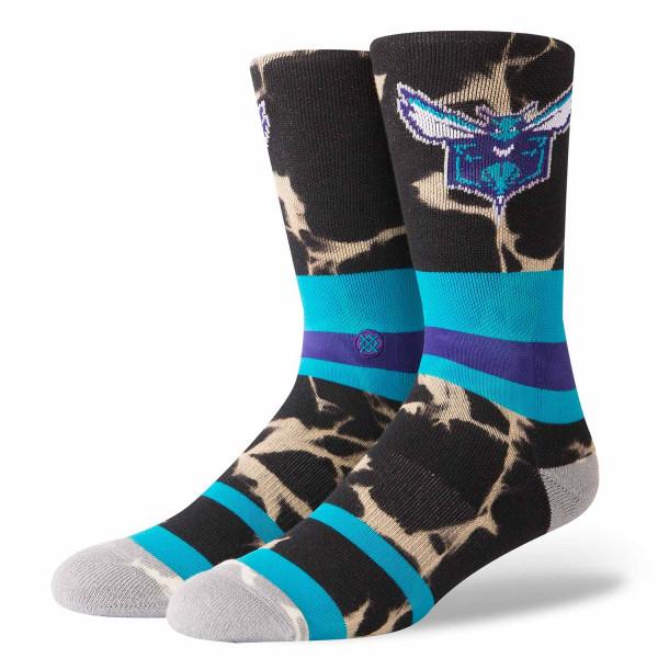 Charlotte Hornets Acid Wash NBA Socken