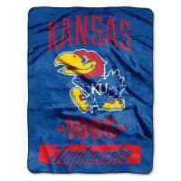Kansas Jayhawks Super Plush NCAA Decke