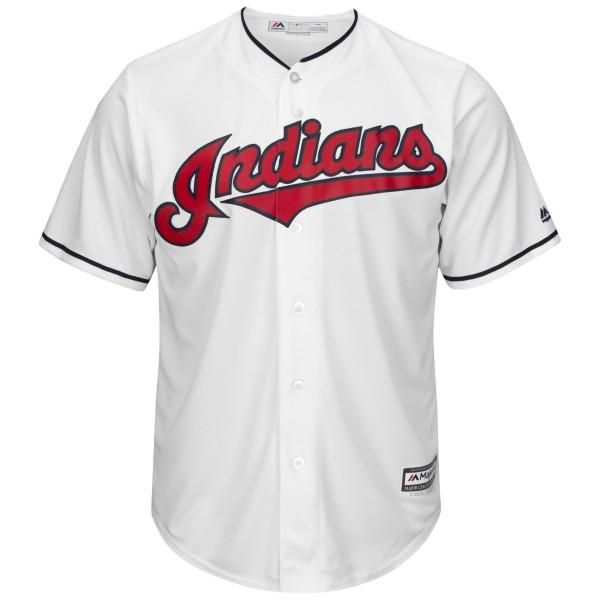Cleveland Indians Cool Base MLB Trikot Home