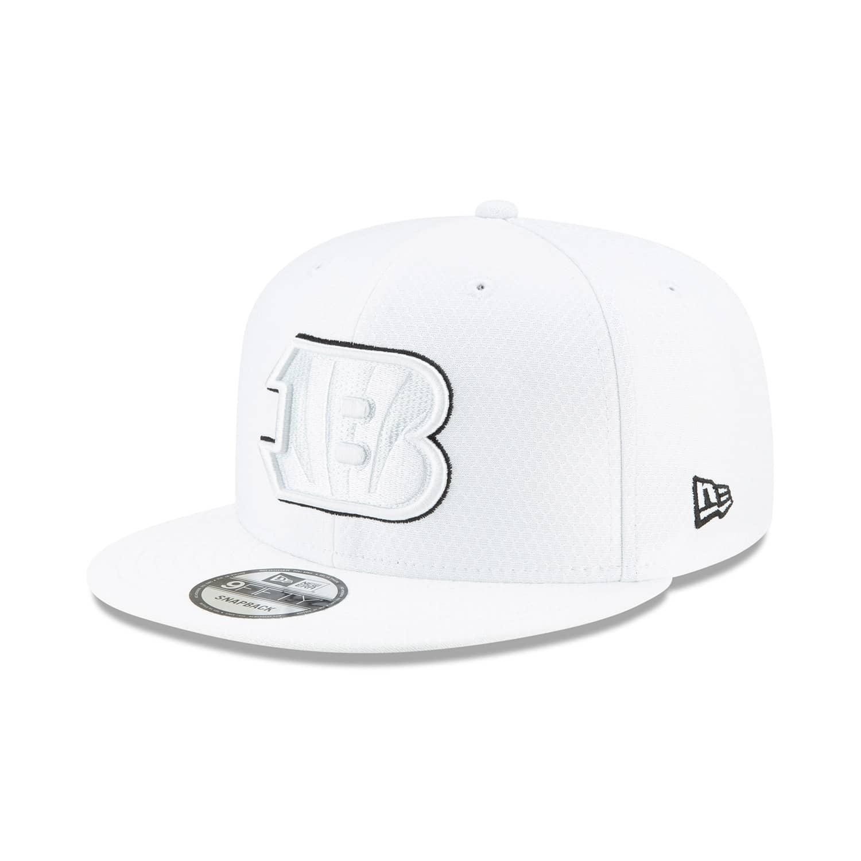 f605b749 Cincinnati Bengals 2019 NFL On-Field Sideline Platinum 9FIFTY Snapback Cap