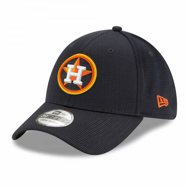 Houston Astros 2021 MLB Authentic Clubhouse New Era 39THIRTY Flex Cap