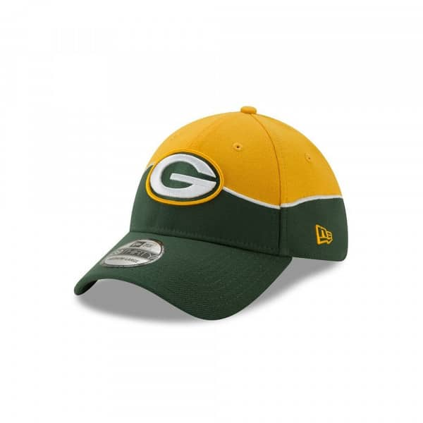 Green Bay Packers 2019 NFL Draft On-Stage 39THIRTY Stretch Fit Cap
