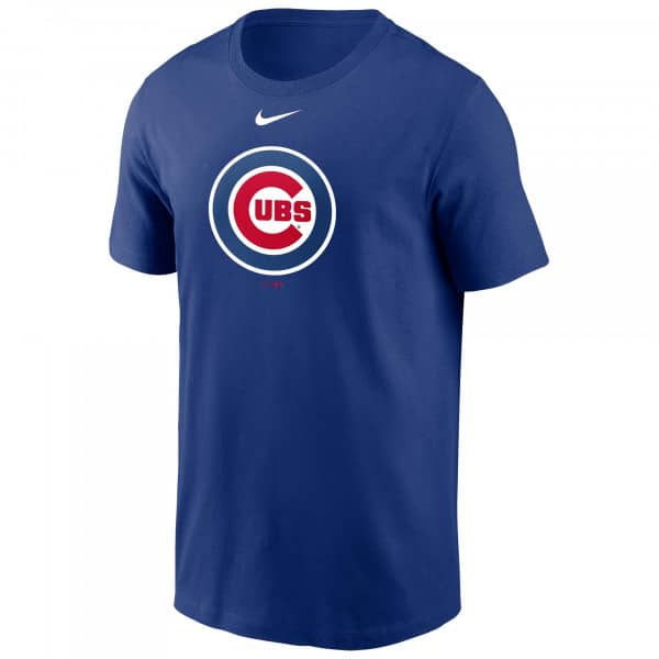 Chicago Cubs Large Logo Nike MLB T-Shirt Blau