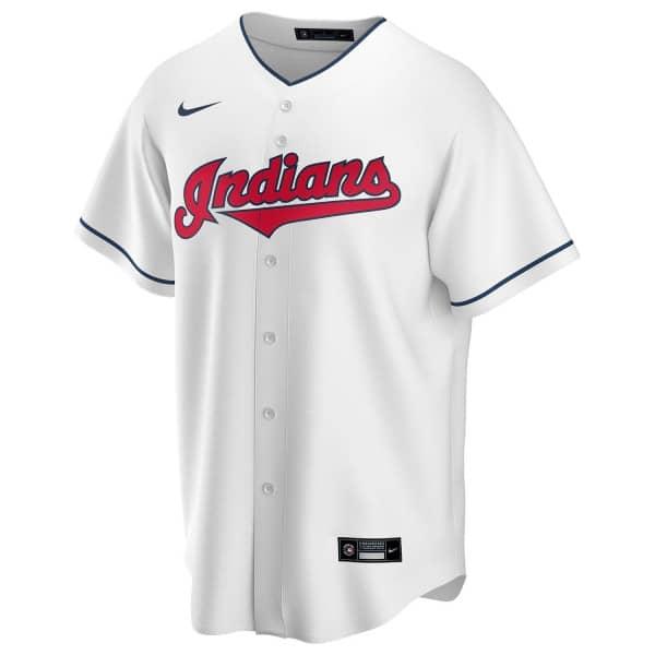 Cleveland Indians 2020 Nike MLB Replica Home Trikot Weiß