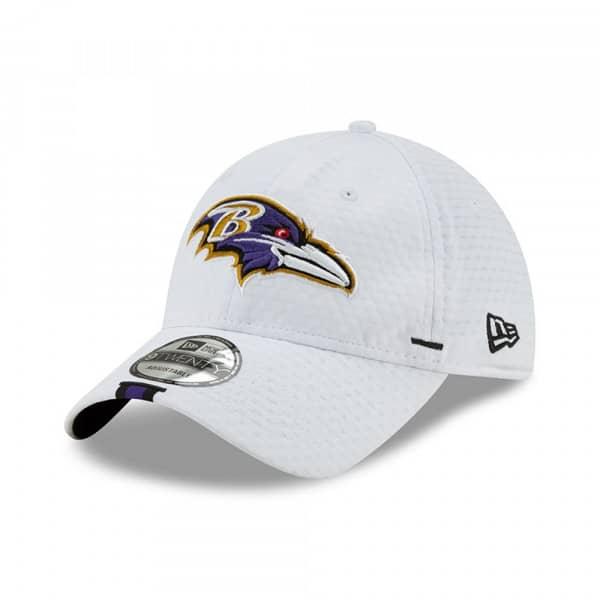 Baltimore Ravens 2019 NFL Training 9TWENTY Cap Weiß