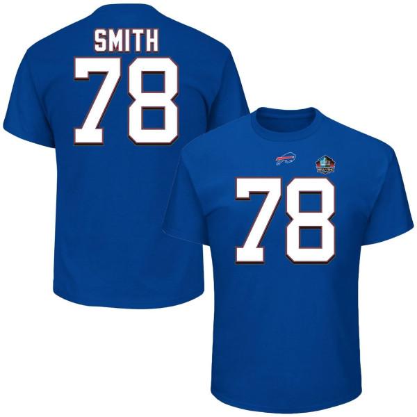 Bruce Smith #78 Buffalo Bills HOF NFL T-Shirt