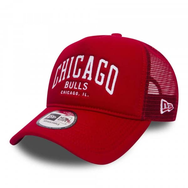 Chicago Bulls Chainstitch Trucker NBA Cap