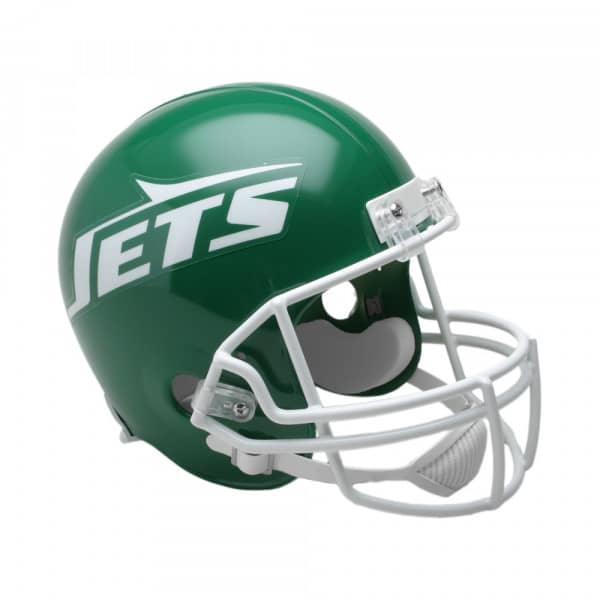 New York Jets NFL Throwback Riddell Replica Full Size Helm (1978-89)