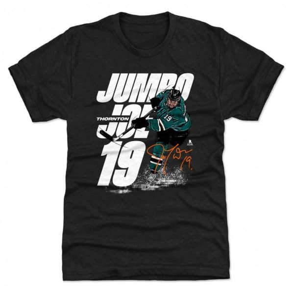 Jumbo Joe Thornton San Jose NHL T-Shirt