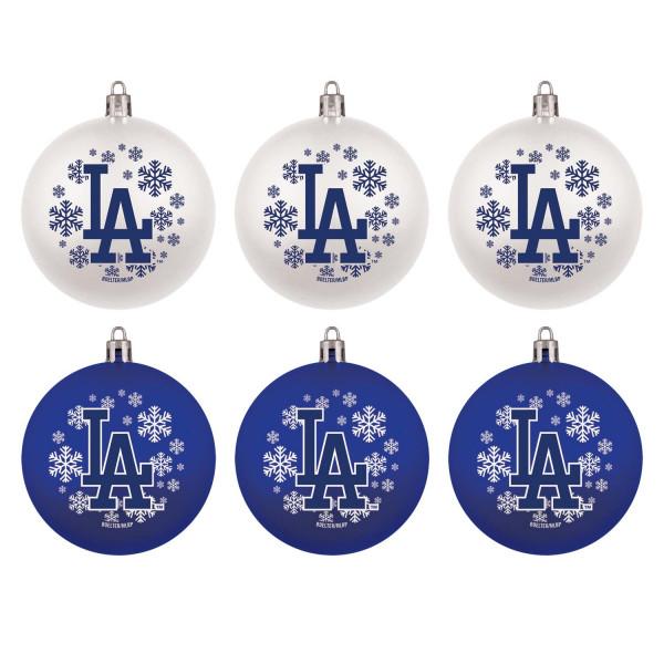 Los Angeles Dodgers MLB Weihnachtskugeln Geschenk-Set (6-Teilig)