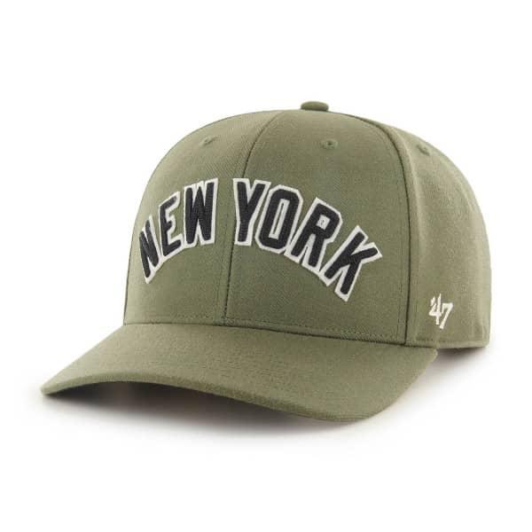 New York Yankees Chain Link Script '47 MVP DP Snapback MLB Cap