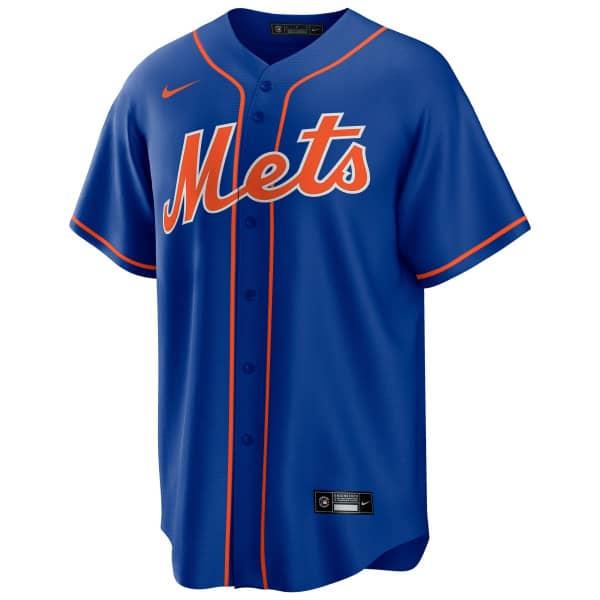 New York Mets 2020 Nike MLB Replica Alternate Trikot Blau