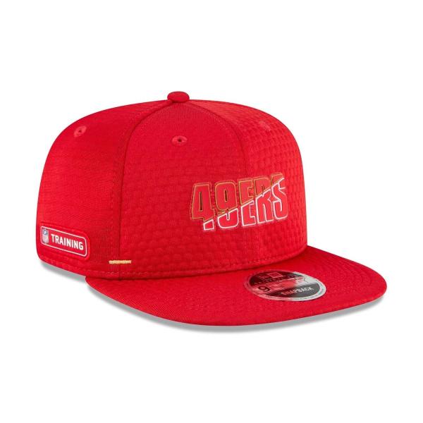 San Francisco 49ers 2020 Summer Sideline New Era Original Fit 9FIFTY Snapback NFL Cap