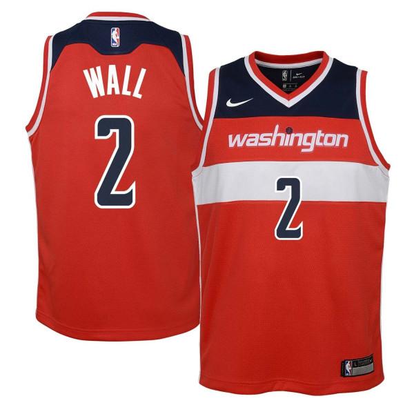 John Wall #2 Washington Wizards Youth Swingman NBA Trikot (KINDER)