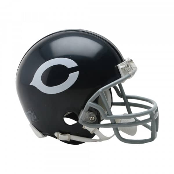 Chicago Bears NFL Throwback Mini Helmet (1962-73)