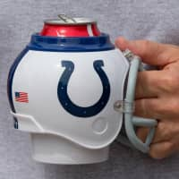 Indianapolis Colts NFL FanMug Helm-Becher