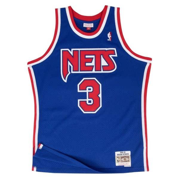 Mitchell   Ness Drazen Petrovic  3 New Jersey Nets 1992-93 Swingman ... 147961814