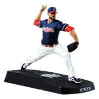 2016 Corey Kluber Cleveland Indians World Series MLB Figur (16 cm)