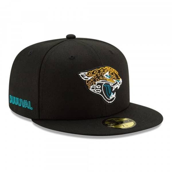 Jacksonville Jaguars Official 2020 NFL Draft New Era 59FIFTY Fitted Cap