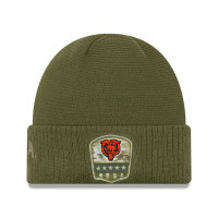 Chicago Bears 2019 On-Field Salute to Service NFL Beanie Wintermütze