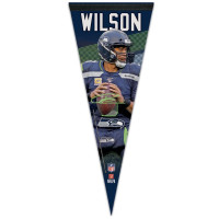 Seattle Seahawks Russell Wilson WinCraft Premium NFL Wimpel
