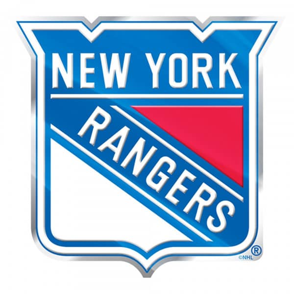 New York Rangers Aluminium Color NHL Team Emblem